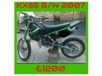 KX85. 2007. Bw