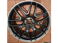 """Mercedes Benz 20"""" genuine forged front alloy wheel"""