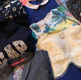 EXCELLENT VALUE: GIRLS CLOTHES BUNDLE: Age 9 –10