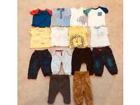 Baby boy bundle 3-6months