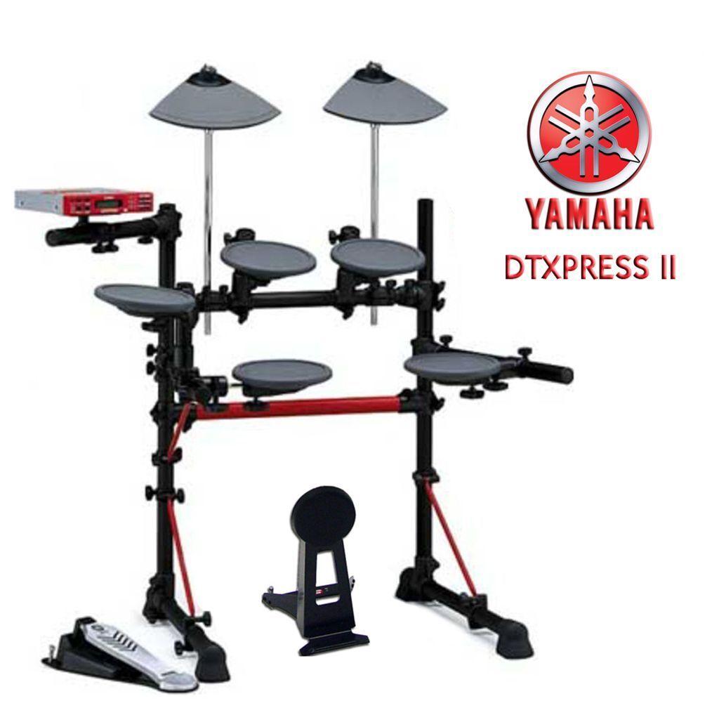 yamaha dtxpress ii full electronic drum kit manuals sticks. Black Bedroom Furniture Sets. Home Design Ideas