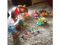 Bing collection, house, shop soft toys ice cream van and brenda the bleanda
