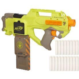 AS NEW Nerf Rayven CS-18 Ammo Firefly Glow Magazine Clip (Nerf Gun BoomCo)