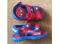 Spiderman Boy Sandal - Infant Size 5