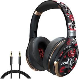 Bluetooth Over-Ear Headphones, Foldable