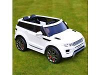 Kids rang rover car