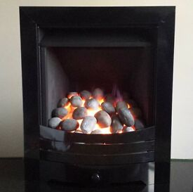 Legend Vantage Rotary Control 3.9 KW Gas Fire (Black)