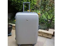 Altitude hard suitcase,wheels,combination No damage or dents. slight marks on exterior.