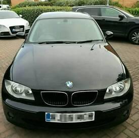 BMW 1 Series Black 120i SE 5dr