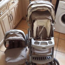 Graco Pushchair / Buggy with Car Seat