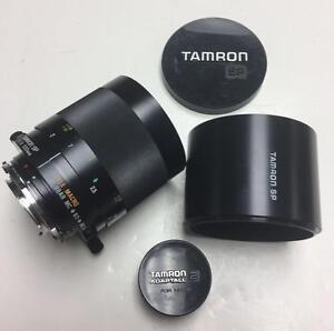 Tamron SP 500mm f8 Tele Macro BBAR MC mirror lens with Nikon adapter and 90 days warranty