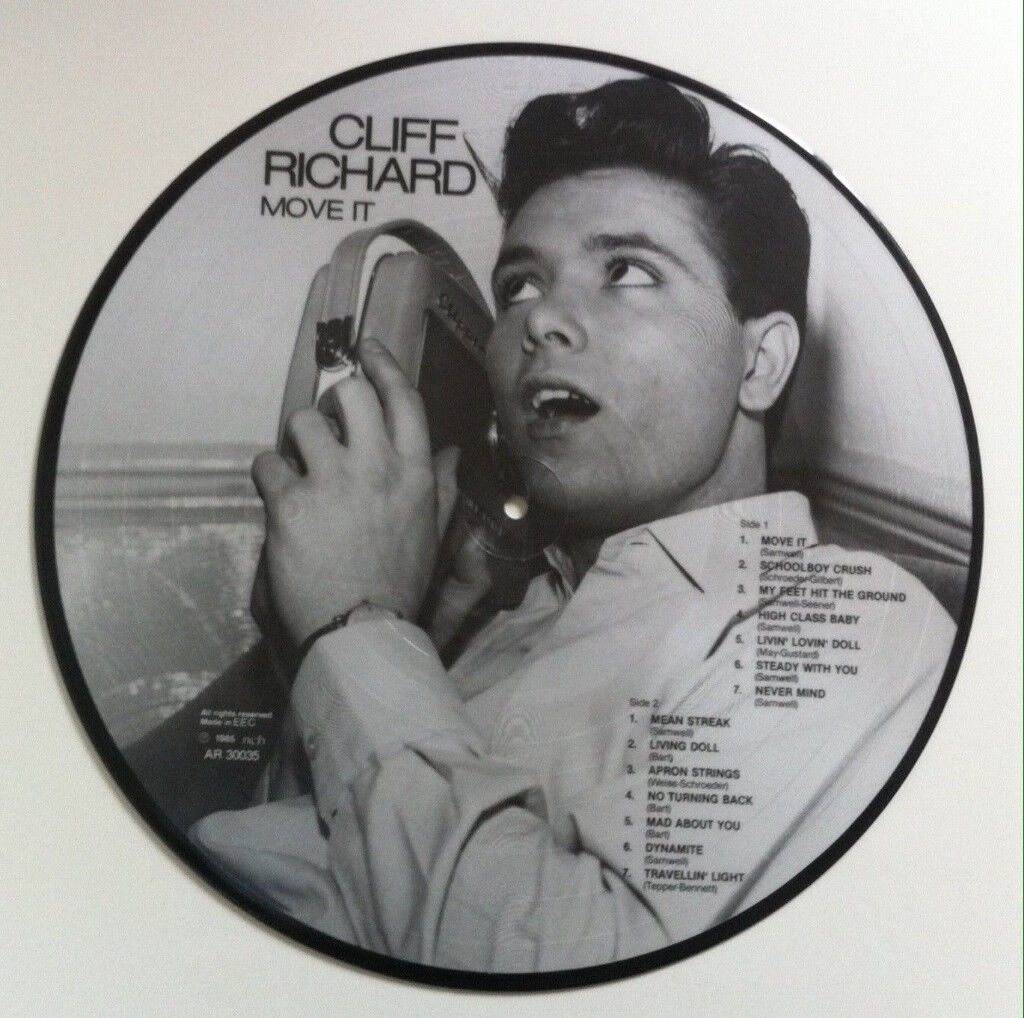Cliff Richard - Move It picture disc