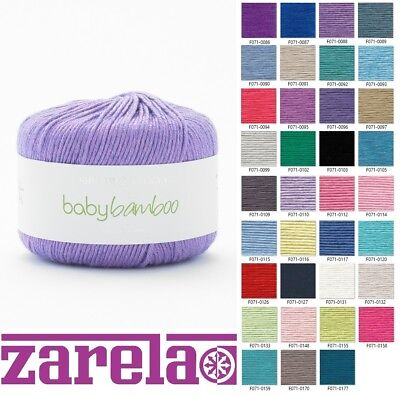 Sirdar Snuggly Baby Bamboo DK Wool/Yarn - 50g ****ALL COLOURS****