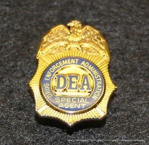 US DEA Lapel Badge  NEW