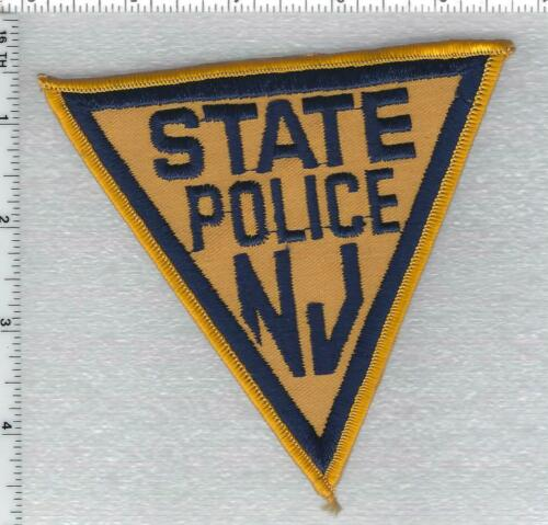 New Jersey State Police Shoulder Patch version 2