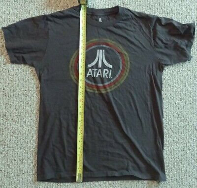 Men's Ripple Junction ATARI Distressed Logo T-shirt Size M