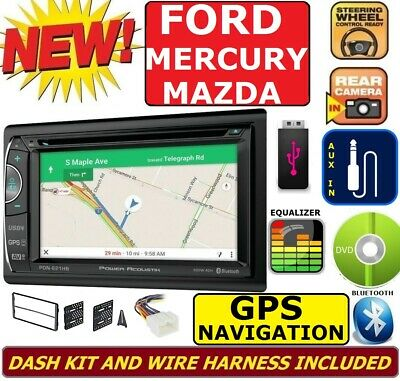 Marine Navigation System - FORD MERCURY MAZDA GPS NAVIGATION SYSTEM CD DVD USB BLUETOOTH CAR RADIO Stereo