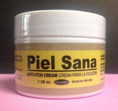 Piel Sana Anti Itching Cream NEW 1.38 oz Expiration 12/2021