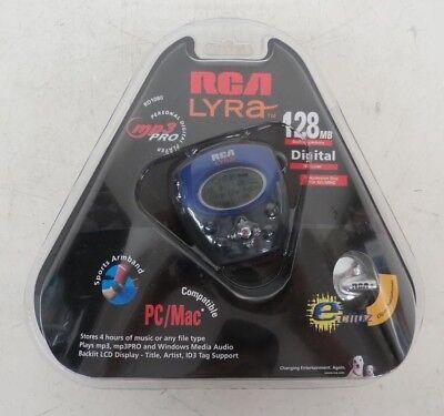 Personal Digital 128mb Mp3-player (RCA Lyra RD1080 128MB Expandable Sports Personal Digital Audio Player NEW RARE!)