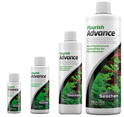 - Seachem FLOURISH ADVANCE Aquarium Plant Fertiliser Growth Enhancer 50-500ml