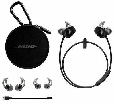BOSE SoundSport Earbuds Wireless Earphones Headphones Bluetooth Black New