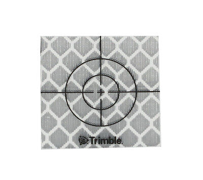 New Trimble 200pcs Reflector Sheet 40 X 40mm Reflective Tape Target