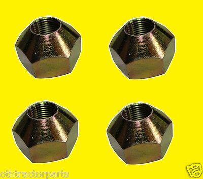 4 - Kubota 35707-49170 Rear Axle To Rim Hub Wheel Nut M4900 M6800 M8200 M9000