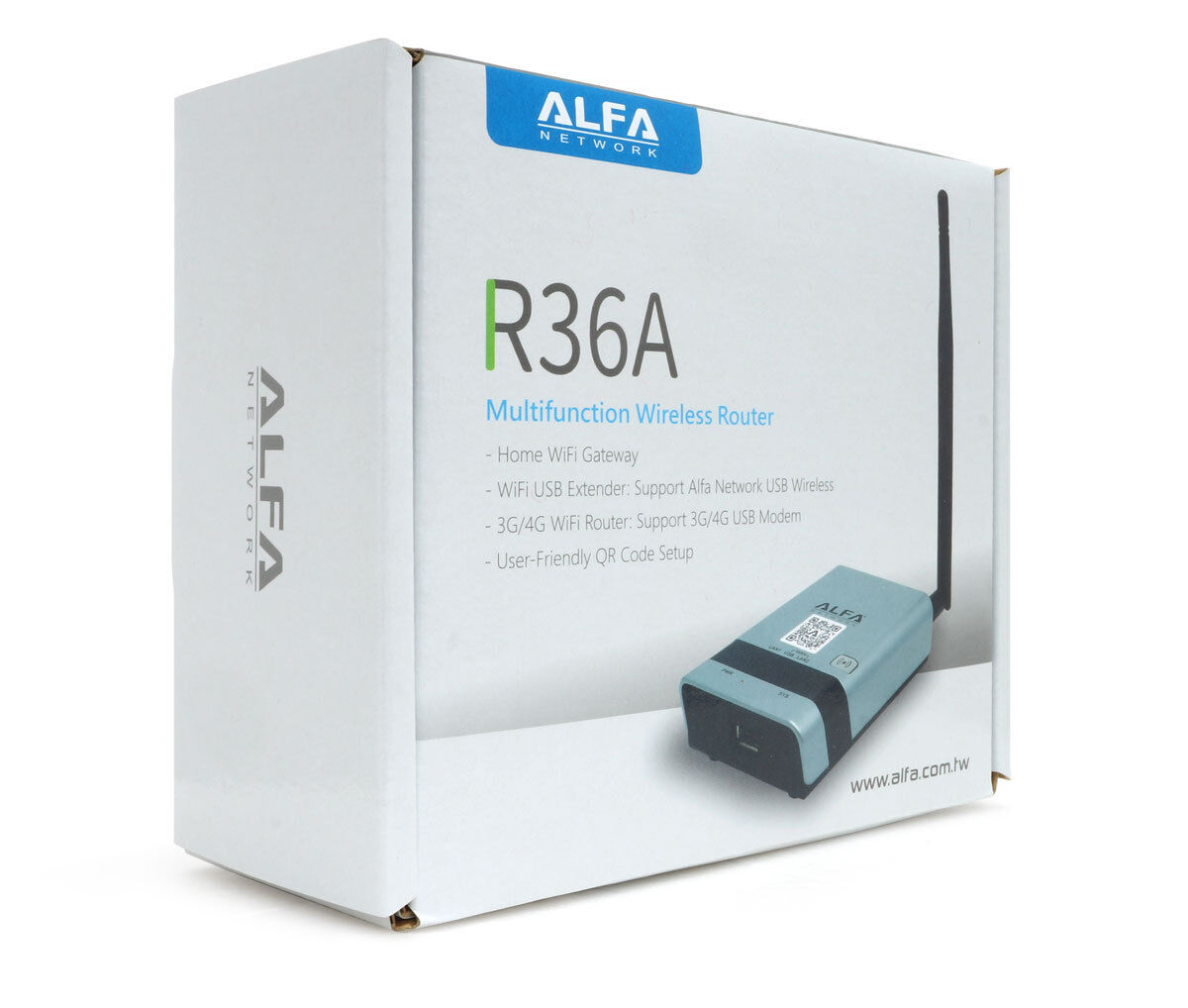 ALFR36NEW Alfa Wide-Coverage WiFi Broadband Router