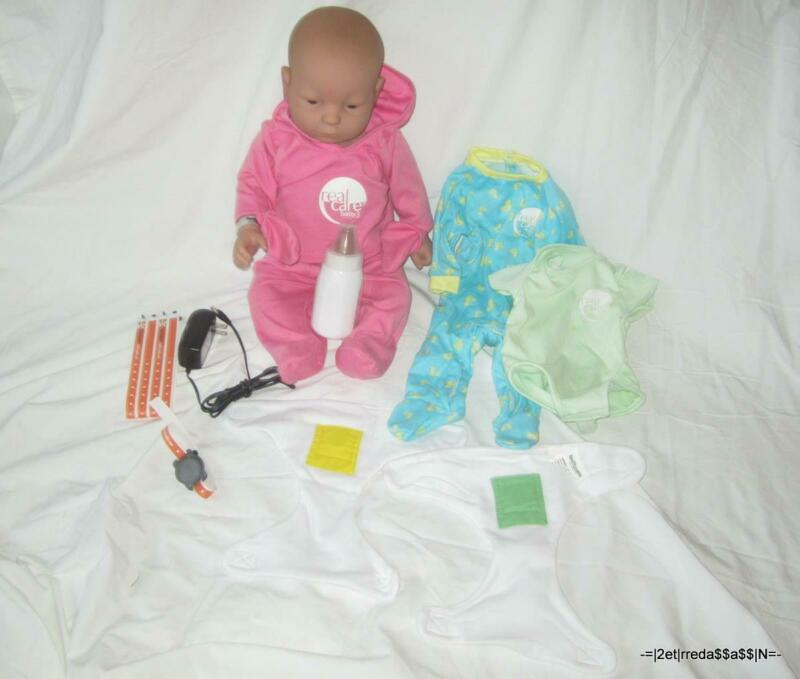 NICE RealCare 3 Baby Think it Over Doll Caucasian White Girl Female +++ PACKAGE