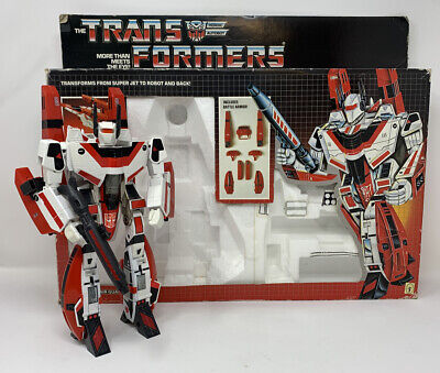 Vintage Hasbro G1 Transformers Figure JETFIRE 100% Complete w/ BOX INSTRUCTIONS