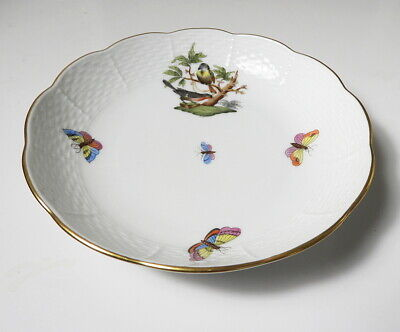Herend Rothschild Bird #726 Oversized Coupe Saucer/Bowl