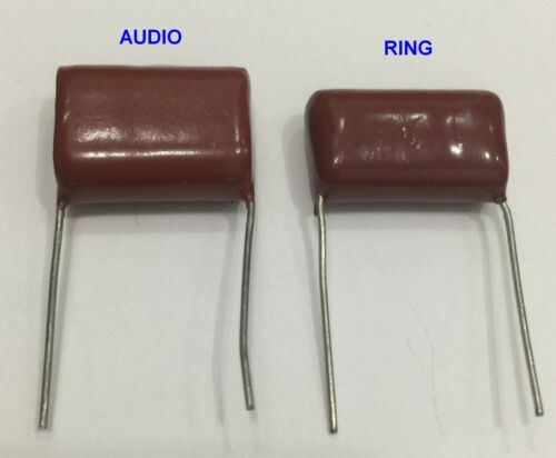 Ring & Talk Capacitor for Western Electric Telephone 302, & similar,  Condenser