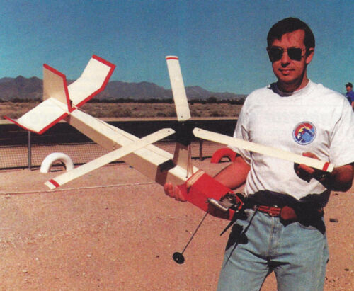 DC Autogyro Plans, Templates and Instructions