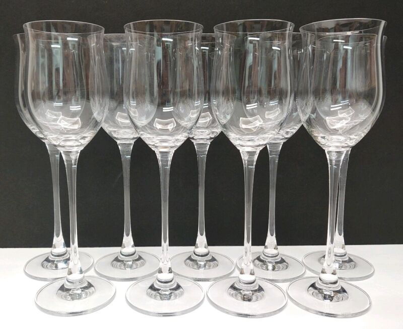 Lenox Wine Goblet Glasses Lot of 9