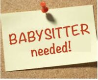 Looking for a nanny