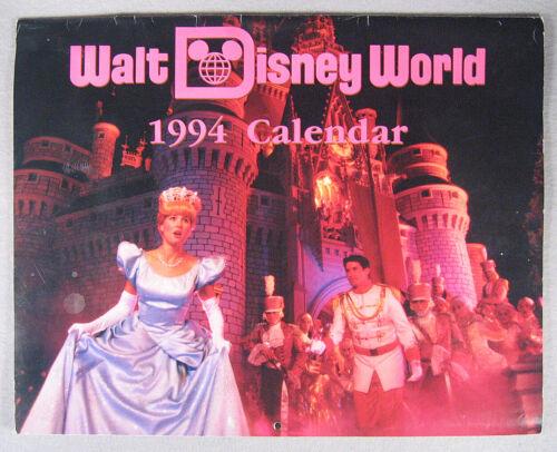 Walt Disney World 1994 Calendar - unforgettable collection of images