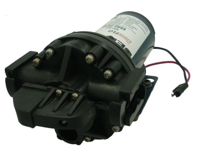 "Delavan PowerFLO 5950-201E Diaphragm Pump 12V 60 PSI 5 GPM On Demand, 3/4"" QA"