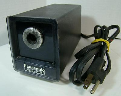 Vintage Panasonic Auto Stop Electric Pencil Sharpener Kp-77 Plunger Feet
