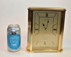 Seiko Westminster-Whittington 8 Mantel Desk Clock QGZ408G Seikosha Quartz Japan