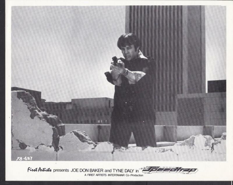 Joe Don Baker closeup in Speedtrap 1977 original movie photo 32142