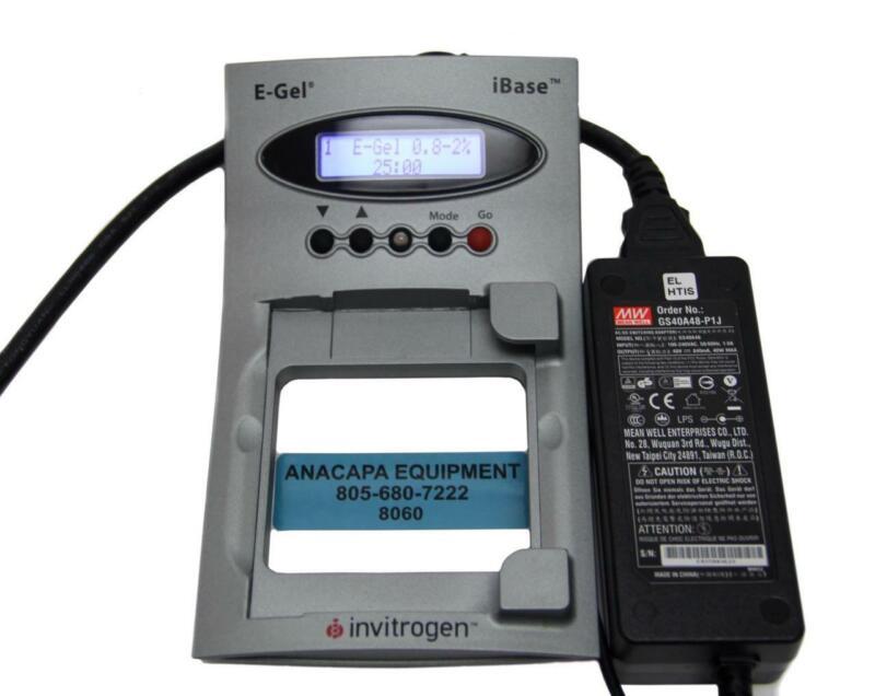 Invitrogen E-Gel iBase Power System W/Power Supply Electrophoresis System (8060)