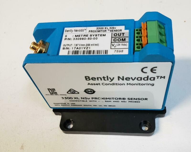 NEW Bently Nevada 3300 XL NSv Proximitor Sensor 330980-71-05