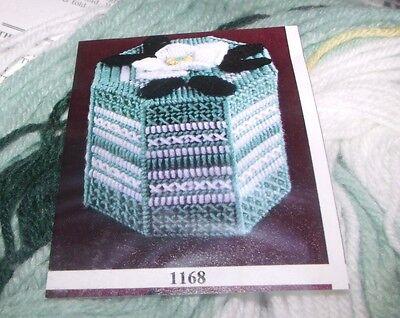 Design Works MAGNOLIA Toilet Paper Roll Cover Plastic Canvas Kit  Octagon Shape