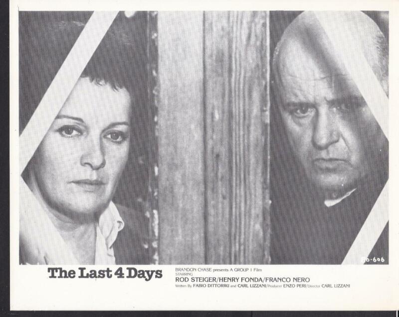 Rod Steiger Lisa Gastoni Mussolini ultimo atto 1974 Last 4 Day movie photo 32092