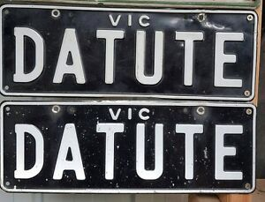 DATUTE NUMBER PLATES Cranbourne East Casey Area Preview