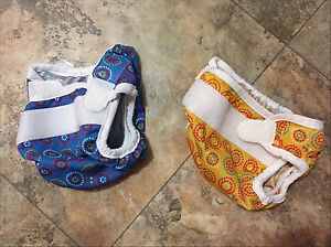 Small reusable diapers