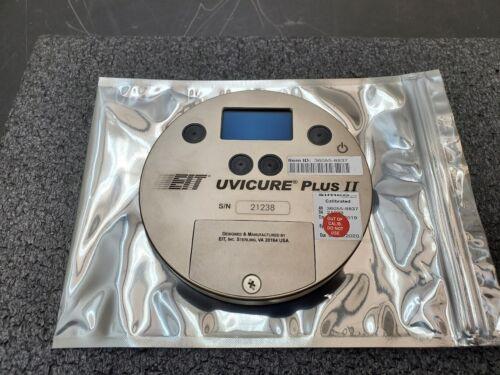 EIT UVICURE PLUS II Radiometer 10W/cm2 10W UVV UV Peak Irradiance Meter Profiler