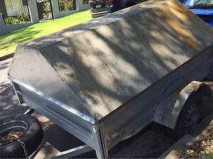Customised box trailer with cover for go kart, lawn mowers etc Sydney City Inner Sydney Preview