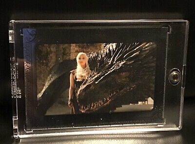 2019 Game of Thrones Inflexions Silver #30/75 Daenerys Wipes Out Slavers Fleet
