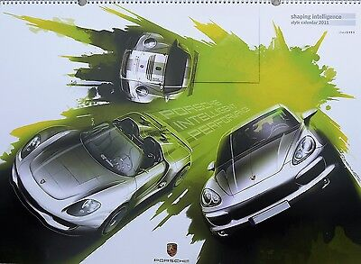Porsche 2011 Style Calendar,plus CD, Shaping Intelligence number 2344 of 3555.